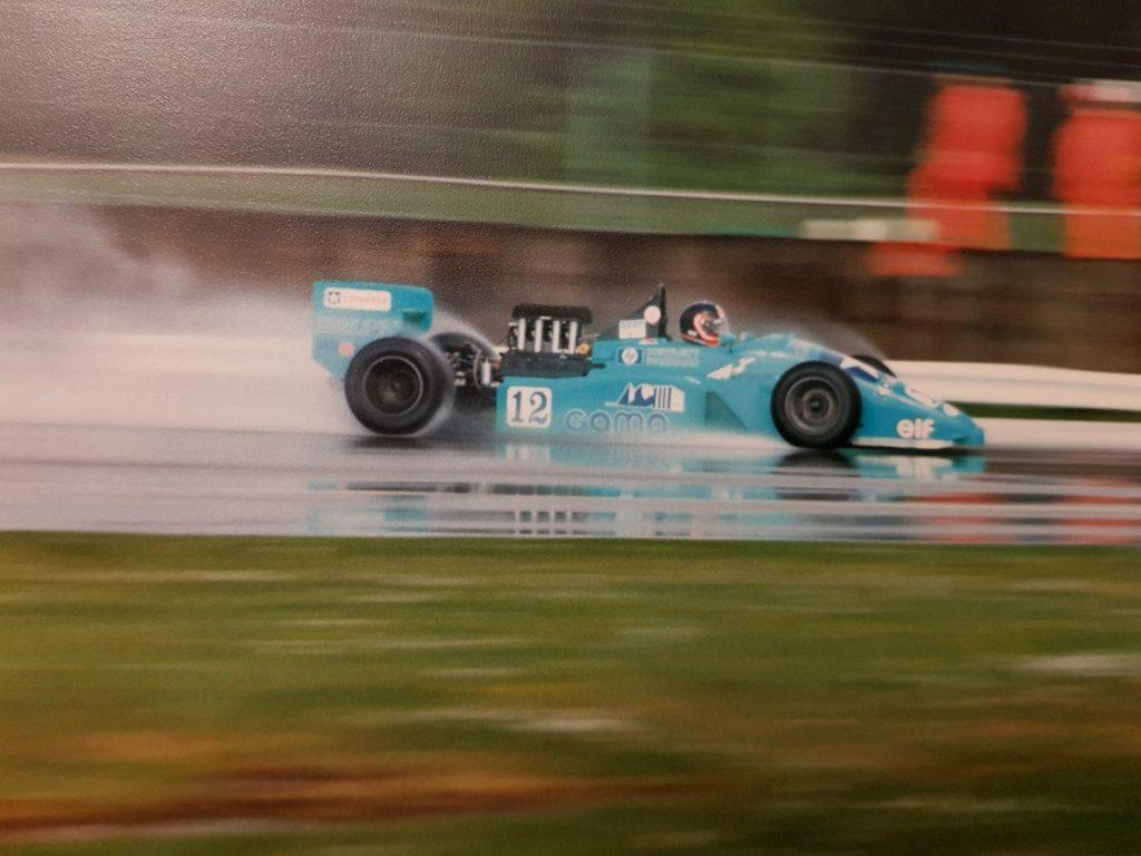 Olivier Grouillard F3000 1988 GDBA