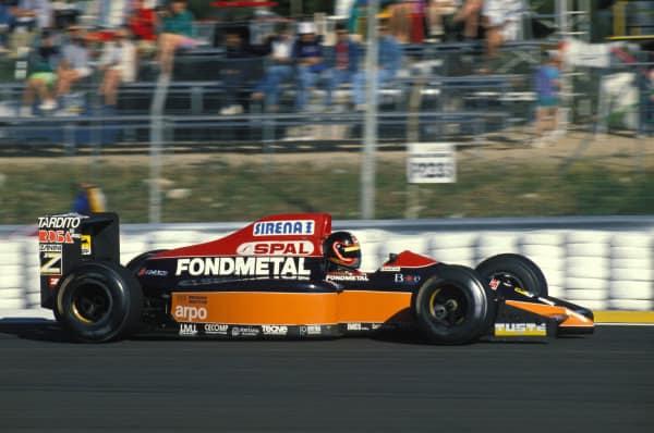 Olivier Grouillard Osella Paul Ricard 1990