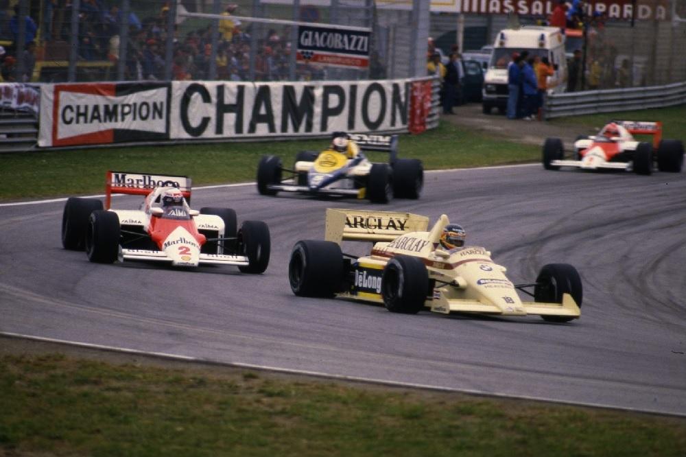 Thierry Boutsen - Arrows BMW - Imola 1985