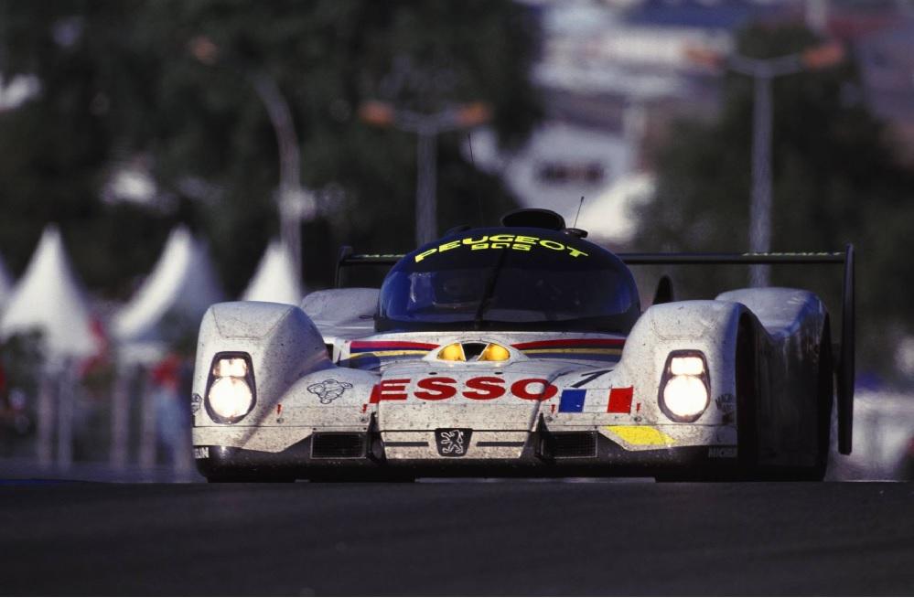 Thierry Boutsen Peugeot 905 Le Mans 1993