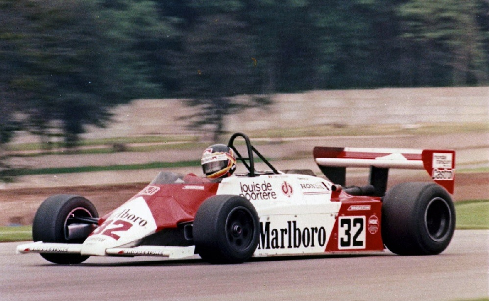 Thierry Boutsen F2 Spirit-Honda 1981