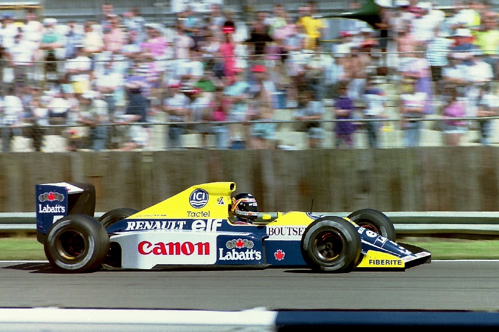 Thierry Boutsen Williams Renault 1990