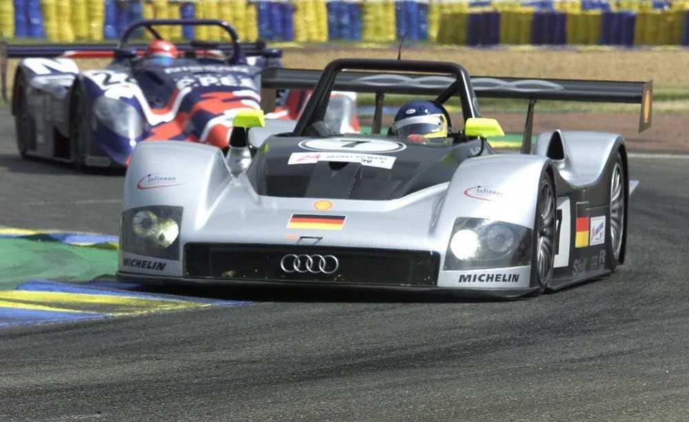 Michele Alboreto Audi R8