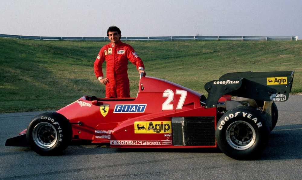 Michele Alboreto Ferrari 1984