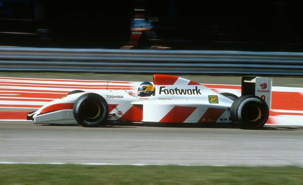 Footwork 1992